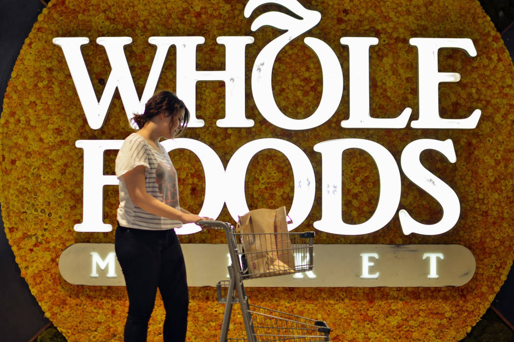 A shopper at Whole Foods Market (Whole Foods Market)