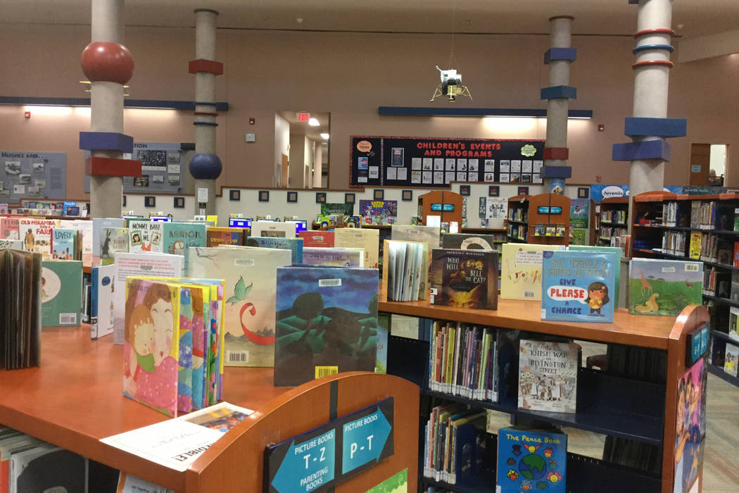 Children's book section at the Summerlin Library. Jacob Lasky/Las Vegas Review-Journal