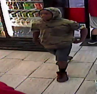 Las Vegas Police are searching for 3 suspects in a robbery Sunday near the intersection of East Desert Inn Road and McLeod Drive. (Las Vegas Metropolitan Police Department)