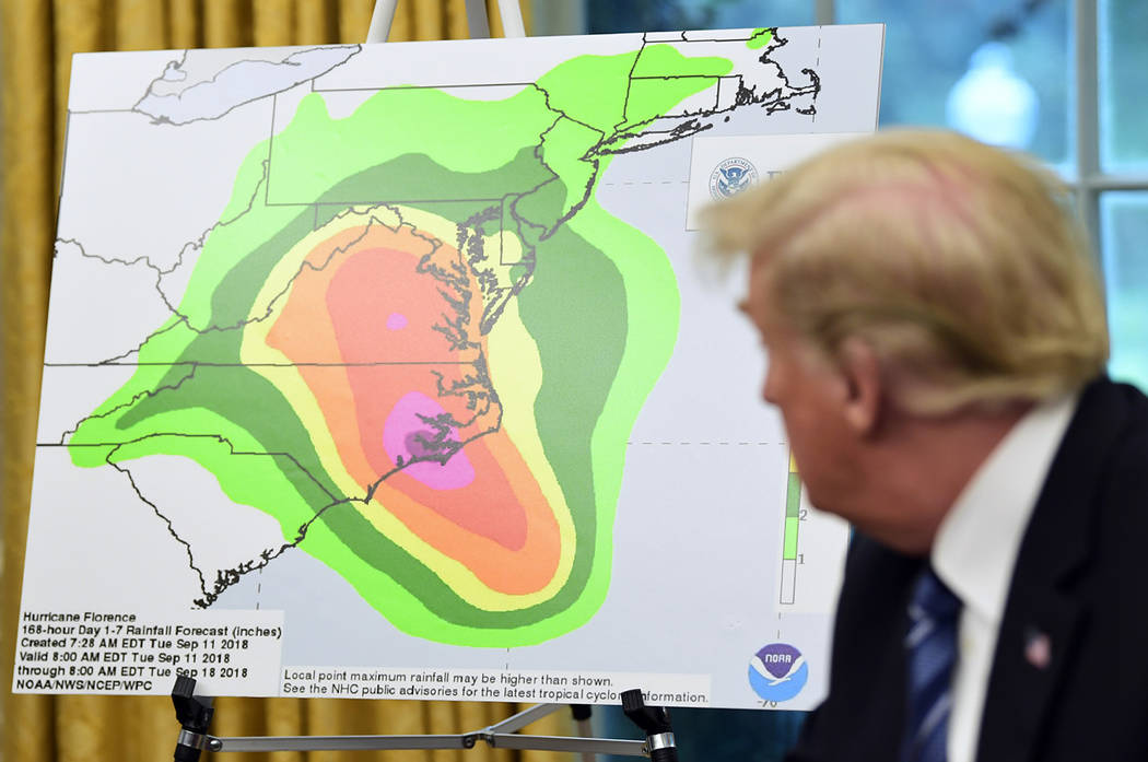 Hasil gambar untuk President Donald J. Trump's Administration Is Preparing Critical Resources and Personnel to Support Hurricane Response Efforts