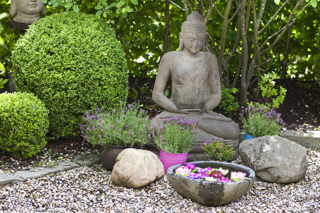 A Zen garden, rooted in monastic life, is for meditation and contemplation. (Thinkstock)