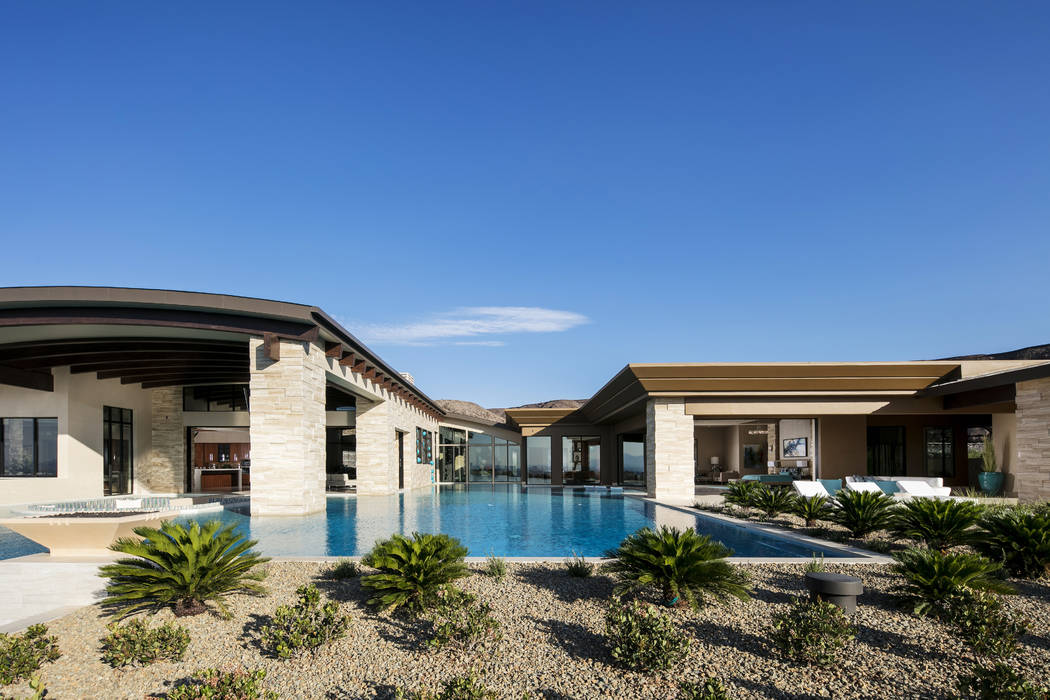 This 12,100-square-foot home in Ascaya has listed for $15.5 million. (Shay Velich)