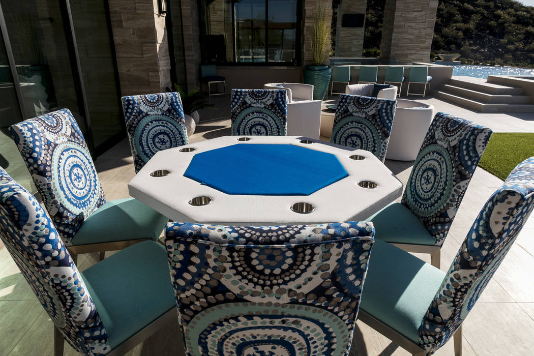 The outdoor patio. (Sun West Custom Homes)