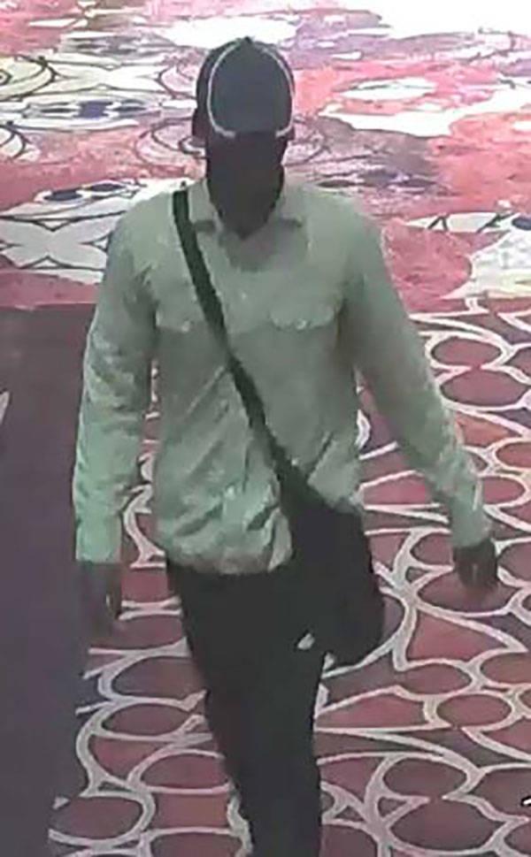 Excalibur robbery suspect (Las Vegas Metropolitan Police Department)
