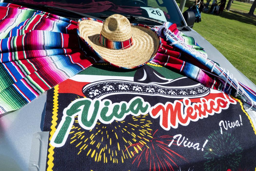 A view of a vehicle at the El Tiempo Fiesta Las Vegas at Craig Ranch Regional Park in North Las Vegas, Saturday, Sept. 15, 2018. (Marcus Villagran/Las Vegas Review-Journal) @marcusvillagran