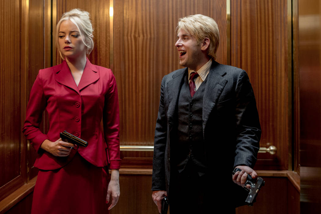 "Emma Stone and Jonah Hill star in ""Maniac"" (Michele K. Short/Netflix)"