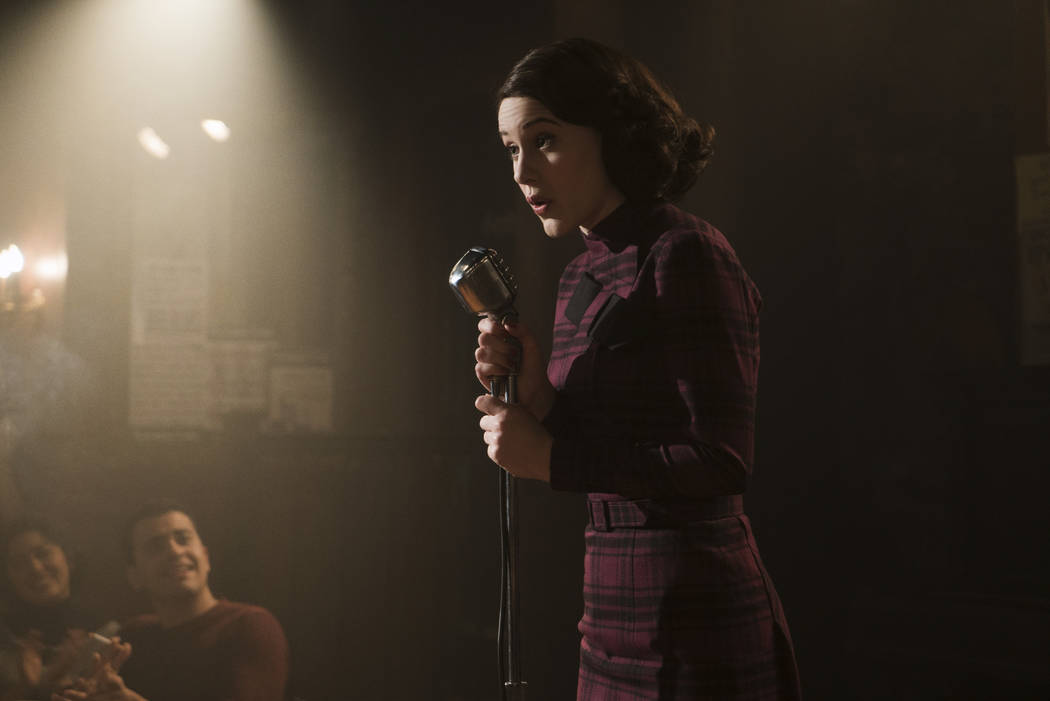 Rachel Brosnahan as Midge Maisel (Amazon)