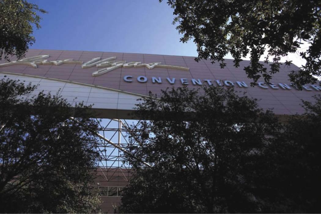 The Las Vegas Convention Center. (Jeff Scheid/Las Vegas Review-Journal)