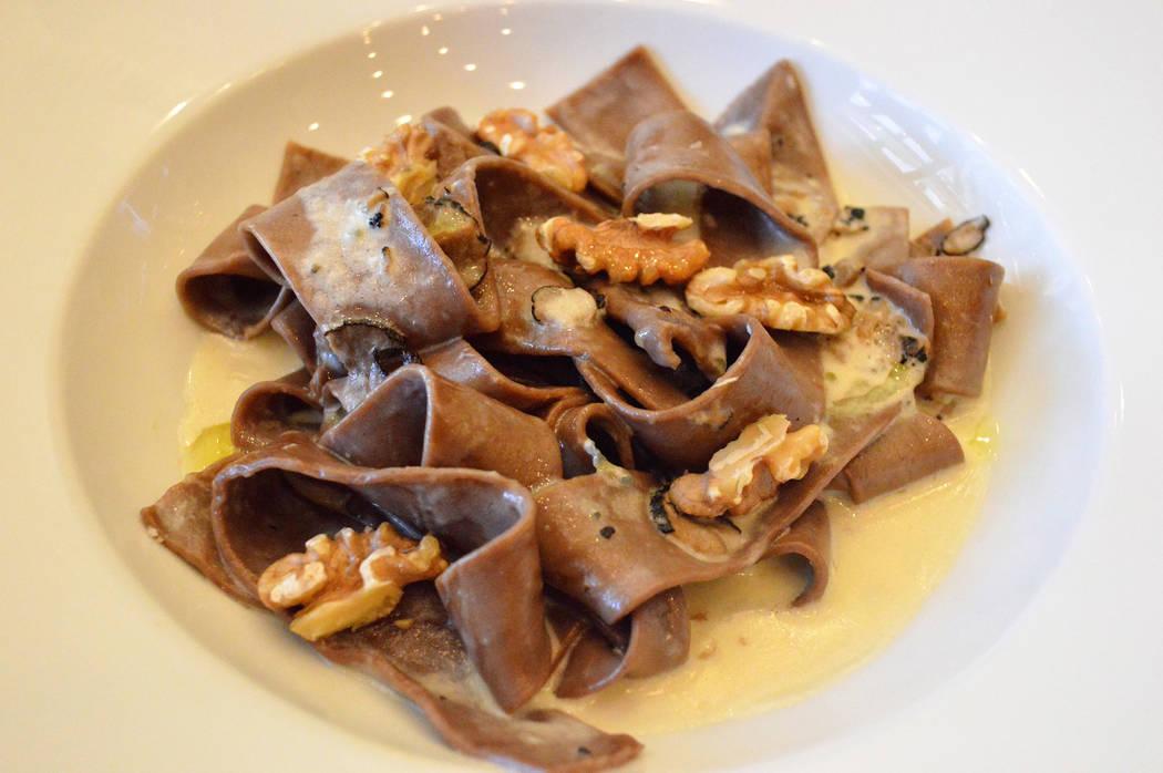 Chocolate Pappardelle (Ferraro's Italian Restaurant & Wine Bar)