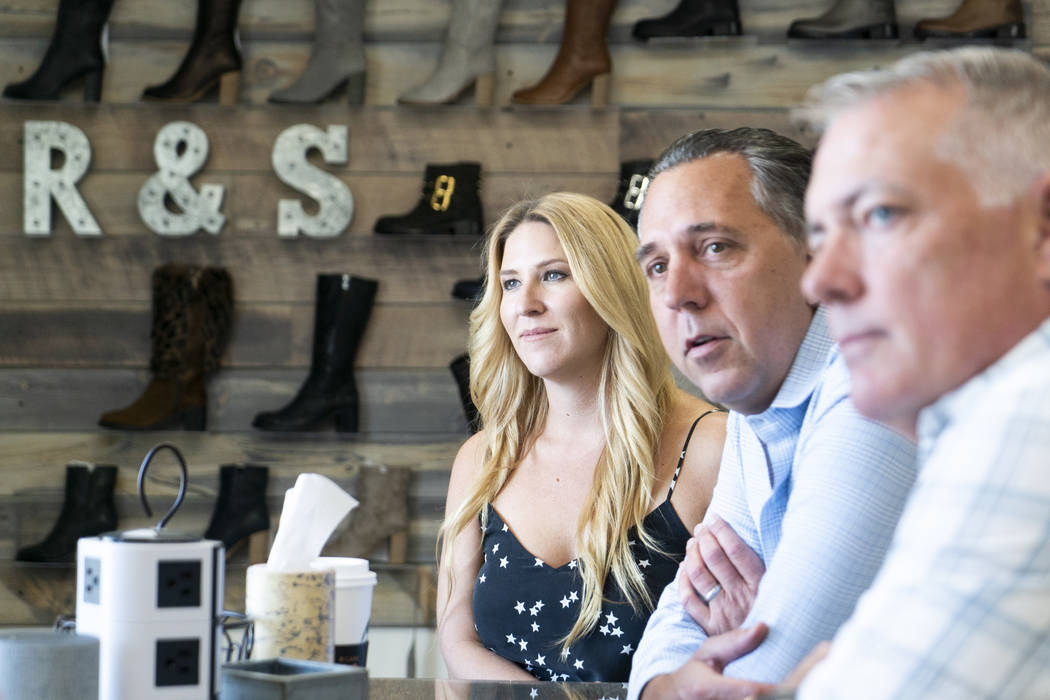 Startup shoe brand Ross & Snow launches in Las Vegas | Las ...