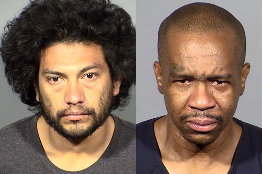 Carlos Portillo, left, and Larry Porchia (Las Vegas Metropolitan Police Department)