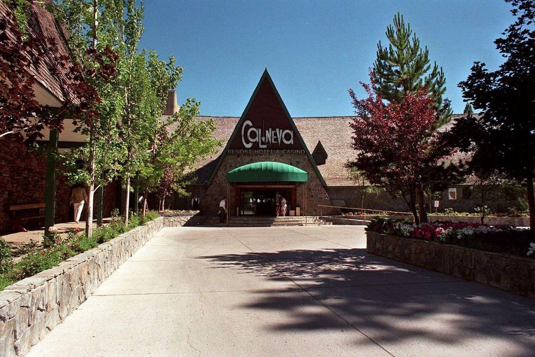 The Cal Neva Lodge and Casino is seen in 1997. (David B Parker/The Reno Gazette-Journal via AP)