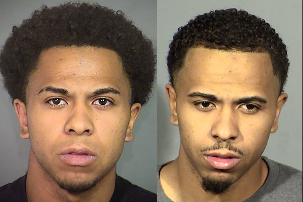 Past booking photos of Curtis Truman, 23 (Las Vegas Metropolitan Police Department)