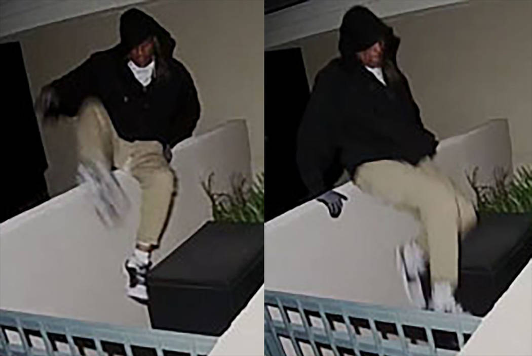 Suspect in several business burglaries in the area of Hualapai Way and Town Center Drive in Summerlin (Las Vegas Metropolitan Police Department)