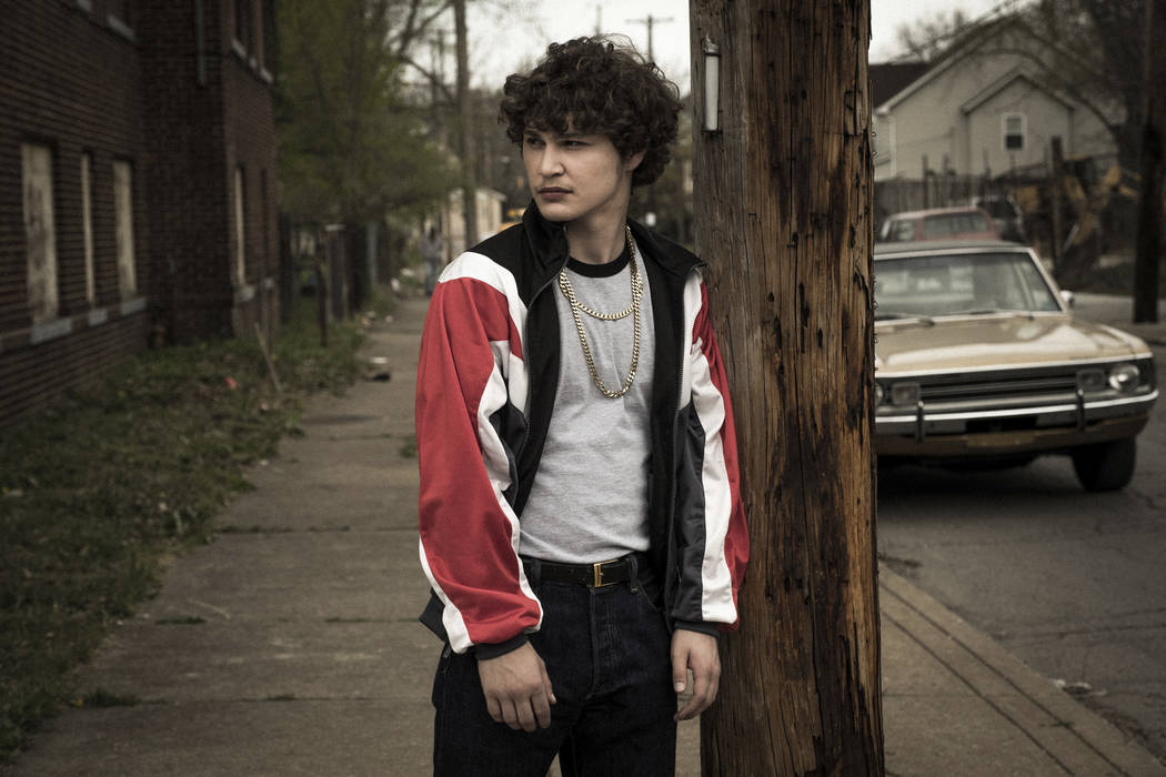 "This image released by Sony Pictures shows Richie Merritt in a scene from ""White Boy Rick."" (Scott Garfield/Sony/Columbia Pictures and Studio 8 via AP)"