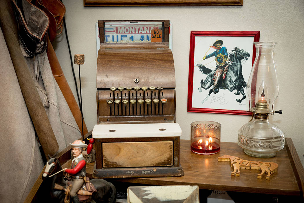 The home is filled wit antiques. (Tonya Harvey Real Estate Millions)