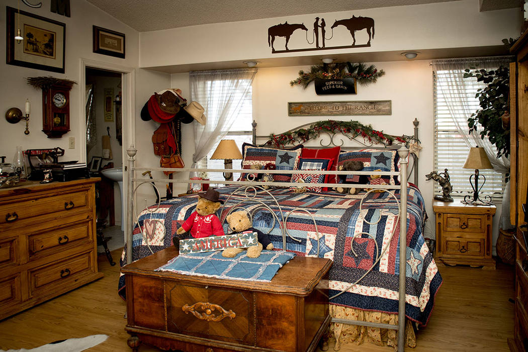 The master bedroom at the ranch. (Tonya Harvey Real Estate Millions)