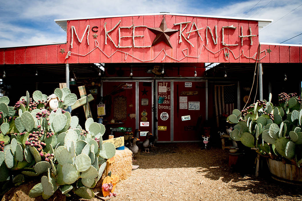 The McKee Ranch is a 501(c)(3) charity that helps to educate the public about rural life in the Vegas Valley. (Tonya Harvey Real Estate Millions)