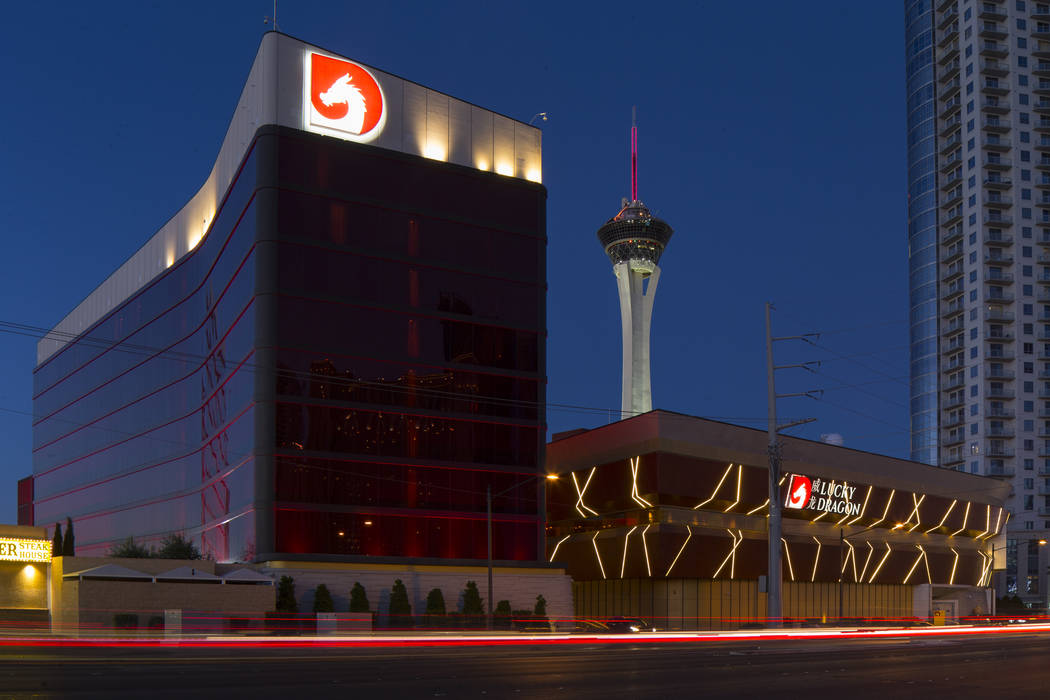 The Lucky Dragon located at 300 W. Sahara Avenue in Las Vegas on Tuesday, Sept. 18, 2018. Richard Brian Las Vegas Review-Journal @vegasphotograph