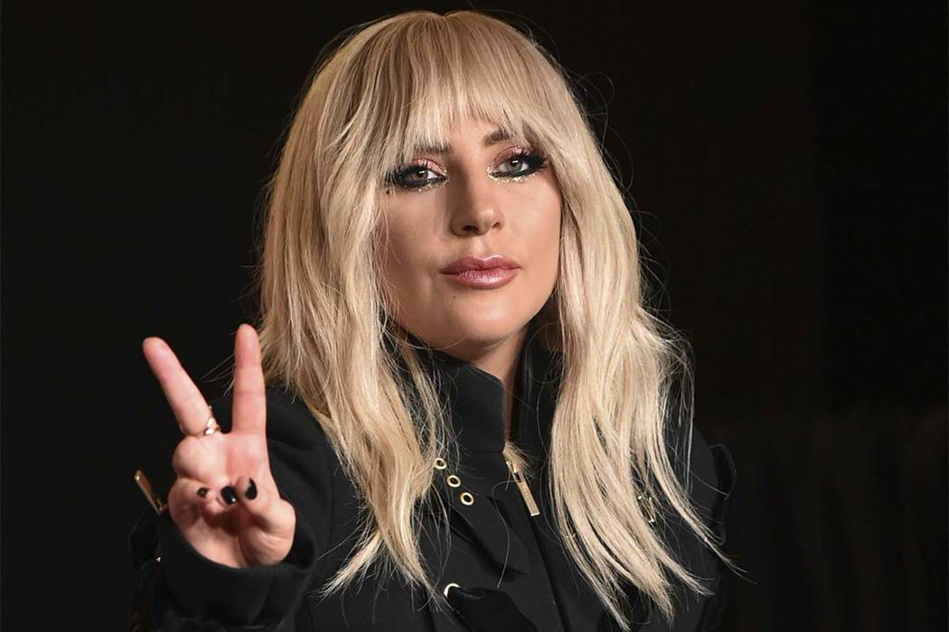 "Lady Gaga attends a news conference for ""Gaga: Five Foot Two"" on Day 2 of the Toronto International Film Festival at the TIFF Bell Lightbox on Friday, Sept. 8, 2017, in Toronto. (Photo by Evan Ago ..."