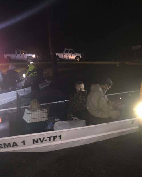 The 16 members of Nevada Task Force One were deployed to the area in and around Beaufort, North Carolina, to assist in water rescues in the aftermath of Hurricane Florence, which hit the Carolina ...