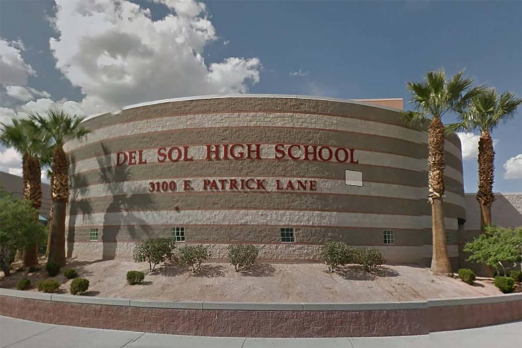 Del Sol High School in Las Vegas (Google)