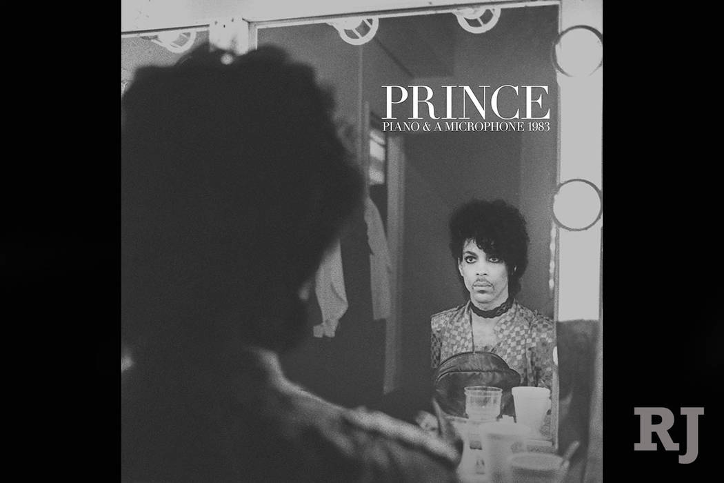 """This cover image released by Warner Bros. Records shows """"Piano & A Microphone 1983,"""" a 35-year-old cassette Prince recorded of himself playing piano and singing at his home studio in Chanhasse ..."""