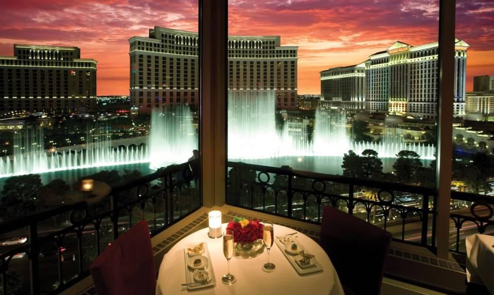 Eiffel Tower Restaurant at Paris Las Vegas. (Courtesy)