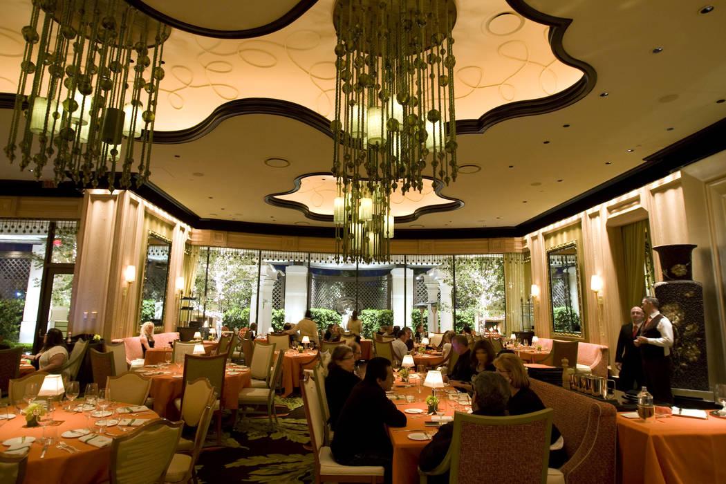 Sinatra restaurant at Encore Las Vegas is shown Saturday, March 6, 2010. K. M. Cannon/Las Vegas Review-Journal