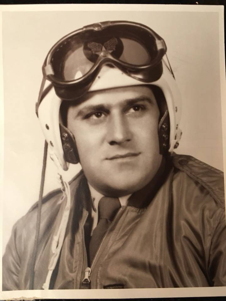 A photo of 1st Lt. Frank Salazar, who disappeared in North Korea after his plane was shot down in December 1952. Photo courtesy of Diana Sanfilippo.