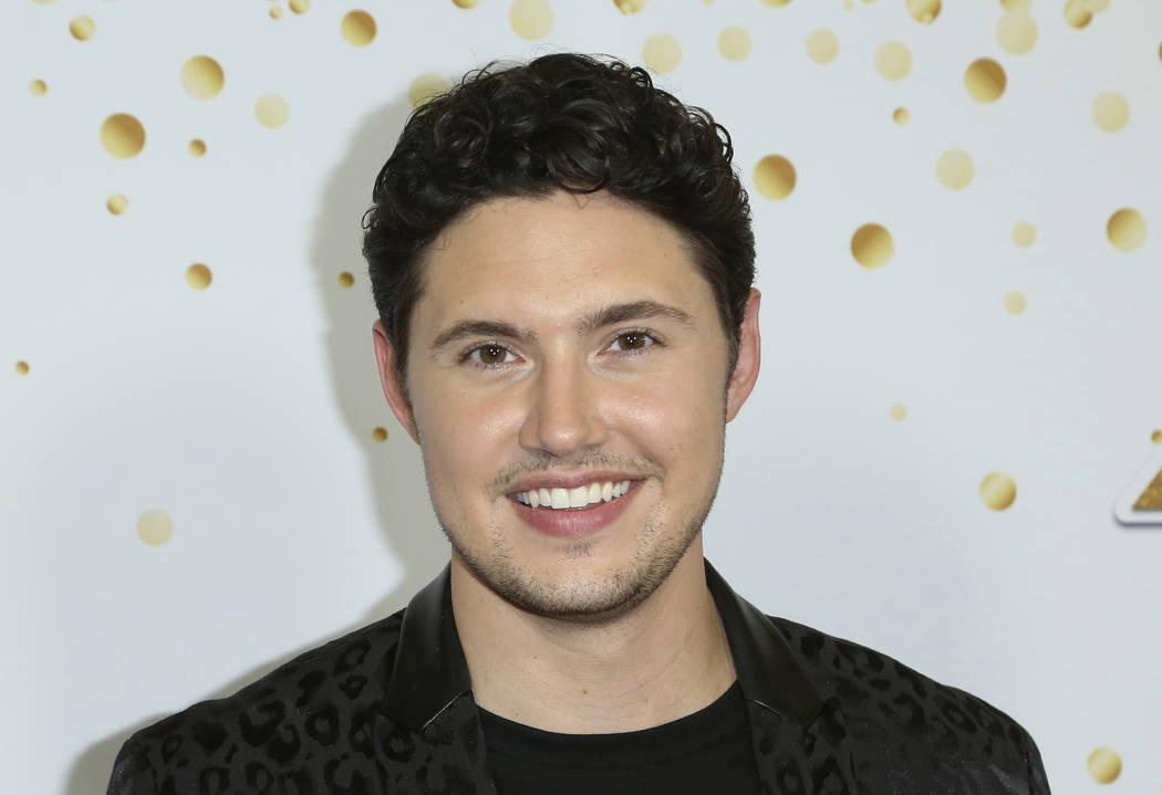 """Opera singer Daniel Emmet of Las Vegas was a finalist in """"America's Got Talent"""" Season 13. (Willy Sanjuan/Invision/AP)"""