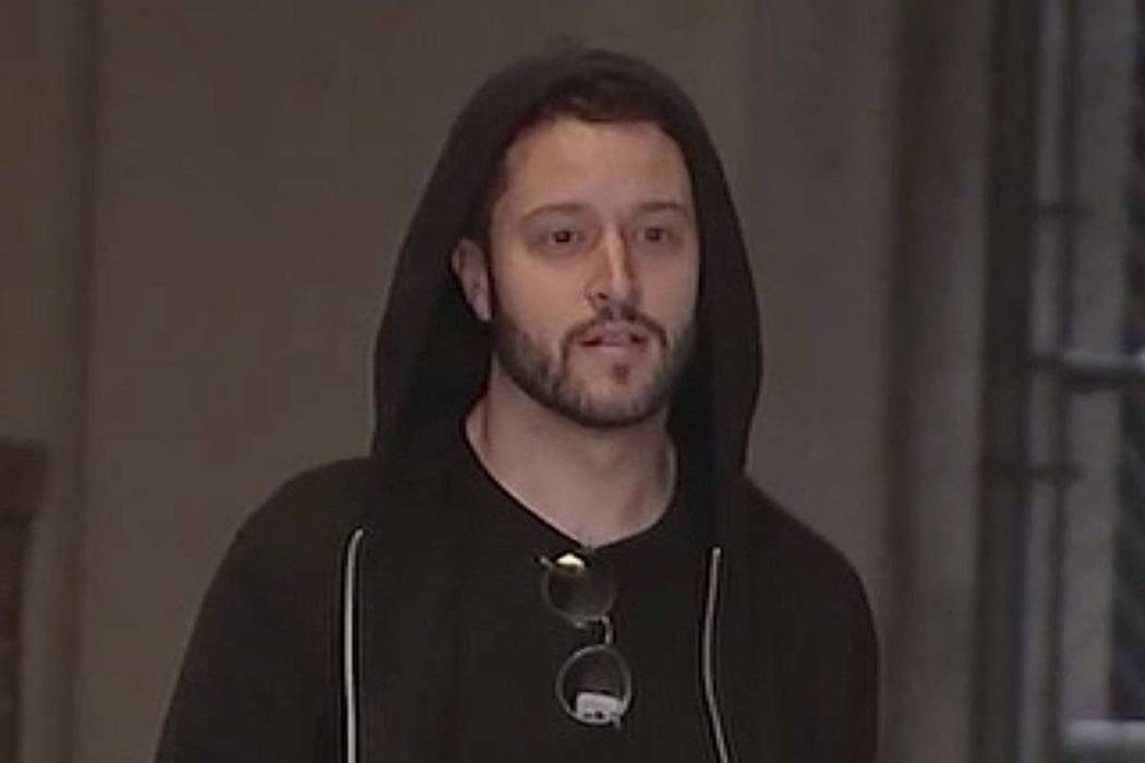 In this image made from a Sunday, Sept. 23, 2018, video by KTRK-TV, Cody Wilson walks out of the Harris County Jail in Houston. Wilson, the owner of a Texas company that sells plans to make untrac ...