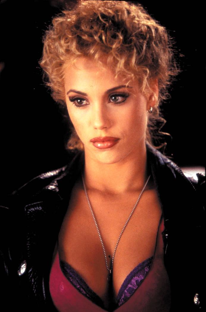 """Actress Elizabeth Berkley in the 1995 movie """"Showgirls."""""""