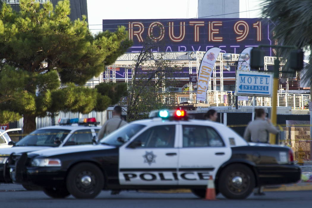 Scene's from day after the Route 91 Harvest shooting in Las Vegas October 2, 2017. Richard Brian