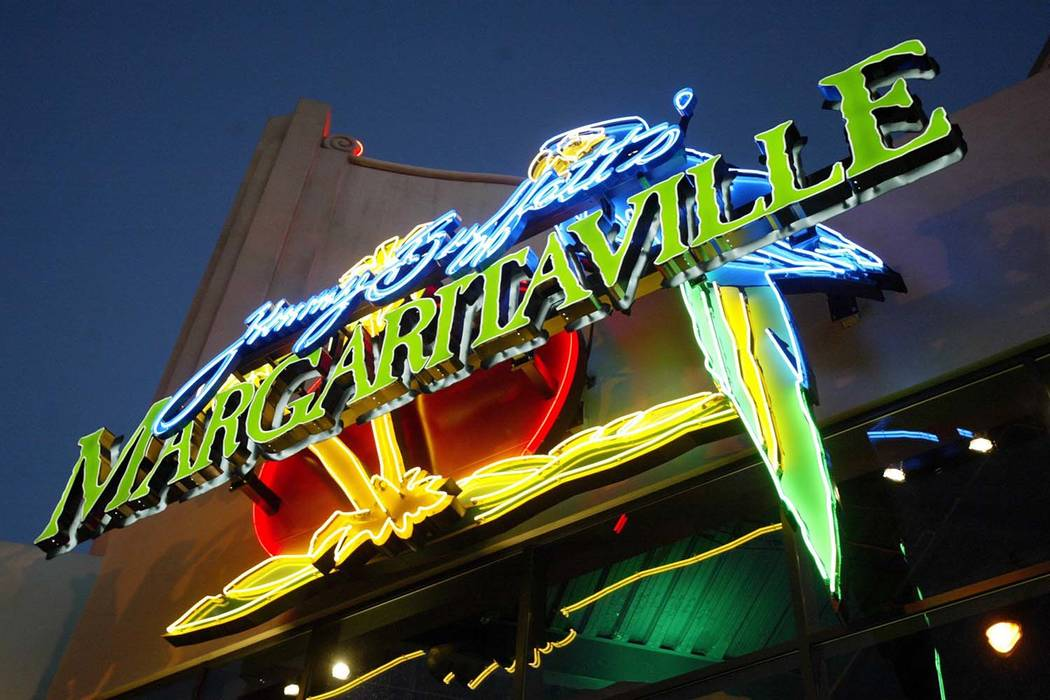 The entrance to Margaritaville on the Las Vegas Strip on Thursday, Jan. 15, 2004. Christine H. Wetzel