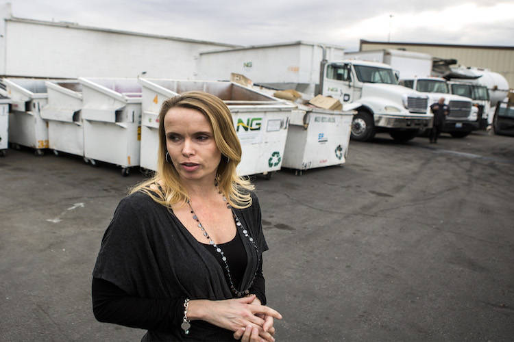 Danielle Basson, director of operations for Simple Environmental Service Group on Wednesday, Dec. 21, 2016. Jeff Scheid/Las Vegas Review-Journal Follow @jeffscheid