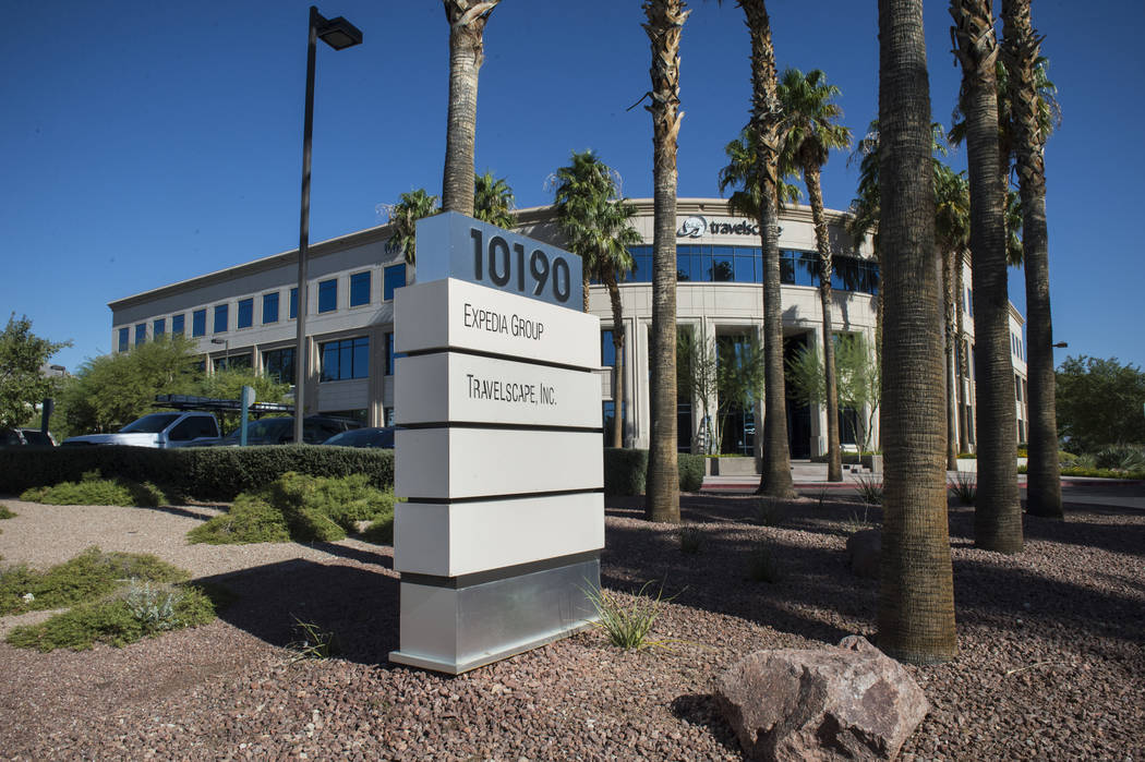 This Summerlin office building, photographed Tuesday, Sept. 25, 2018, was recently purchased by Moonwater Capital founder Ofir Hagay. Caroline Brehman/Las Vegas Review-Journal