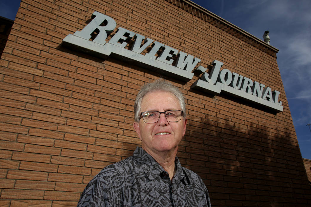 Don Ham, former Review-Journal Deputy Metro Editor, is photographed at the Las Vegas Review-Journal offices on Friday, September 28, 2018. Michael Quine/Las Vegas Review-Journal @Vegas88s