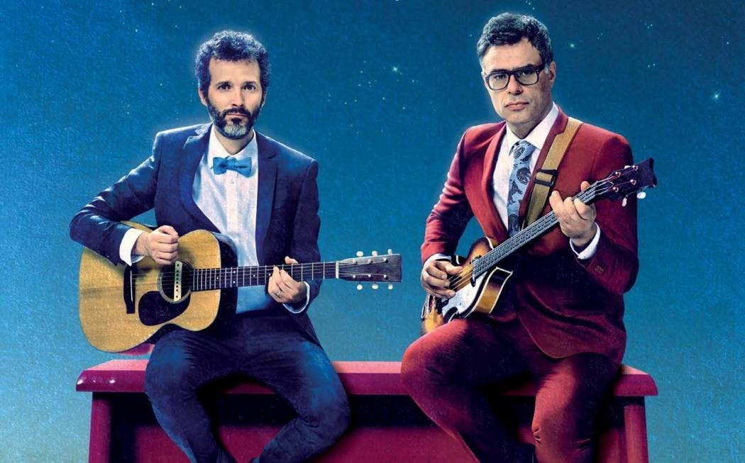 """Bret McKenzie and Jemaine Clement star in """"Flight of the Conchords: Live in London."""" (HBO)"""