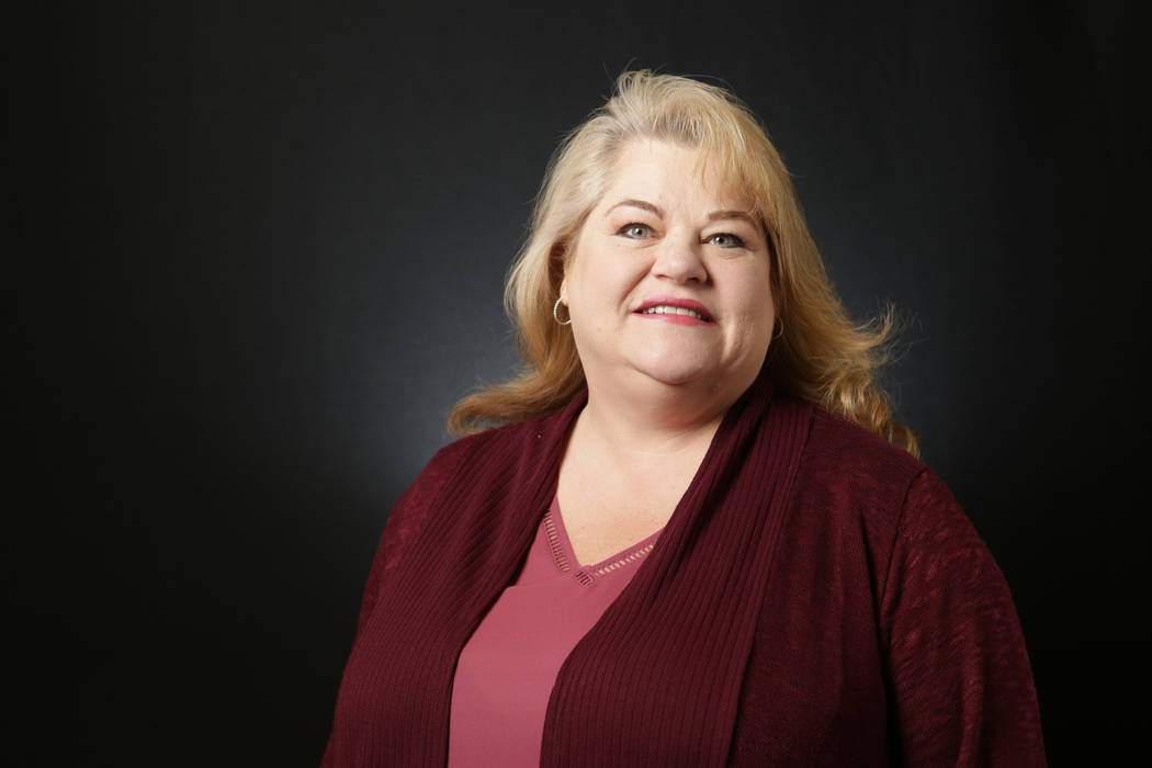 Lesia Romanov, Democratic candidate for Nevada State Assembly District 36, is photographed at the Las Vegas Review-Journal offices on Wednesday, May 9, 2018. Michael Quine/Las Vegas Review-Journal ...