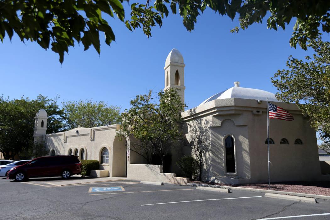 Masjid Ibrahim mosque in Kingman, Ariz. Wednesday, Sept. 12, 2018. K.M. Cannon Las Vegas Review-Journal @KMCannonPhoto