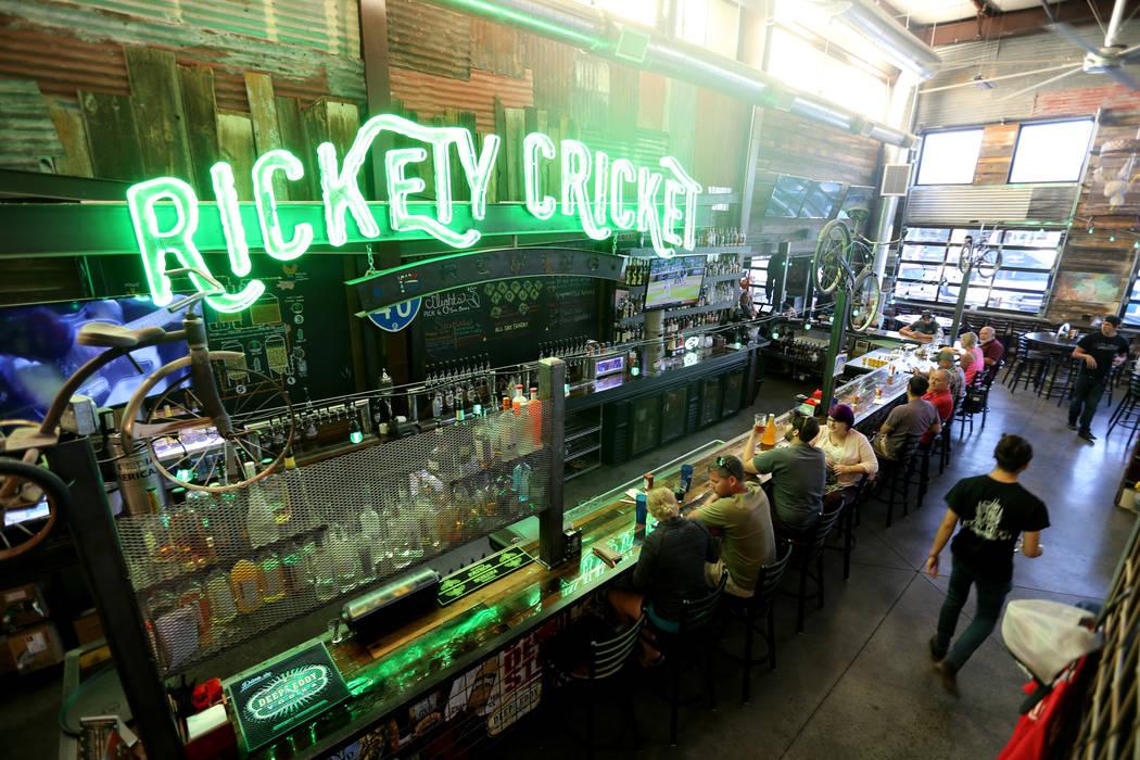 Rickety Cricket Brewing Co. in Kingman, Ariz. Wednesday, Sept. 12, 2018. K.M. Cannon Las Vegas Review-Journal @KMCannonPhoto