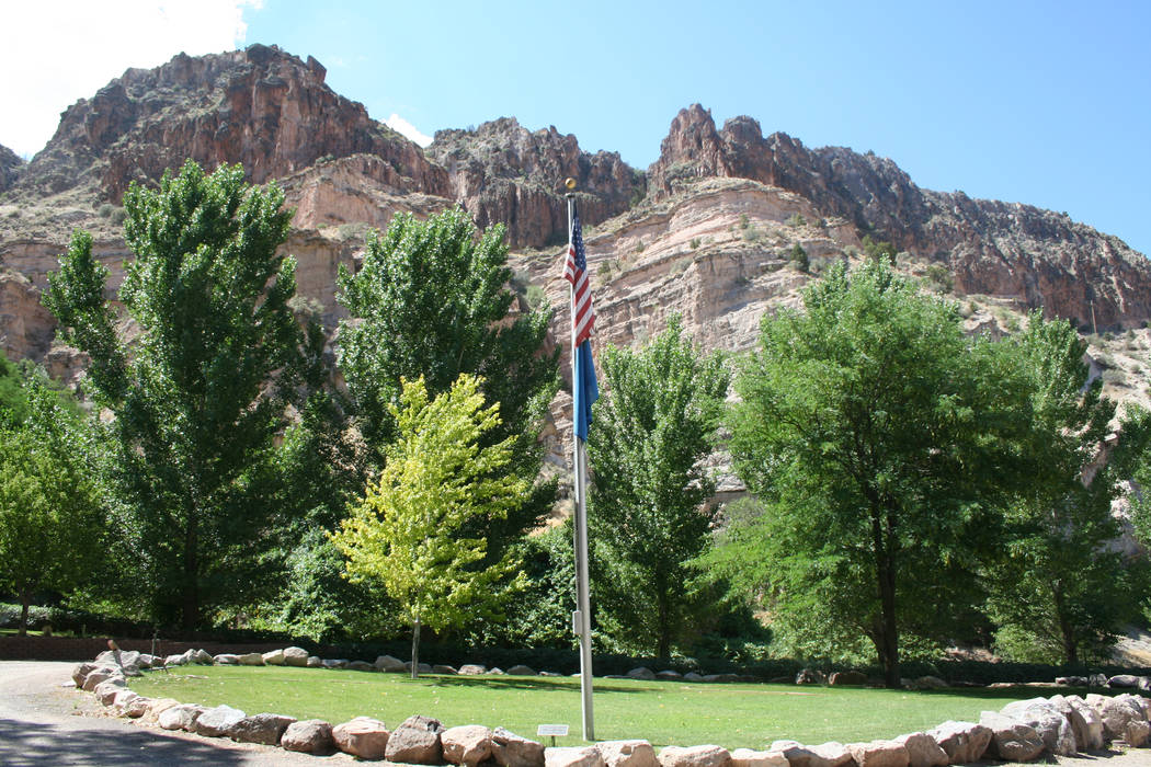 The park has a network of interconnecting hiking trails, picnic areas, a spring-fed pool and a campground. (Deborah Wall)