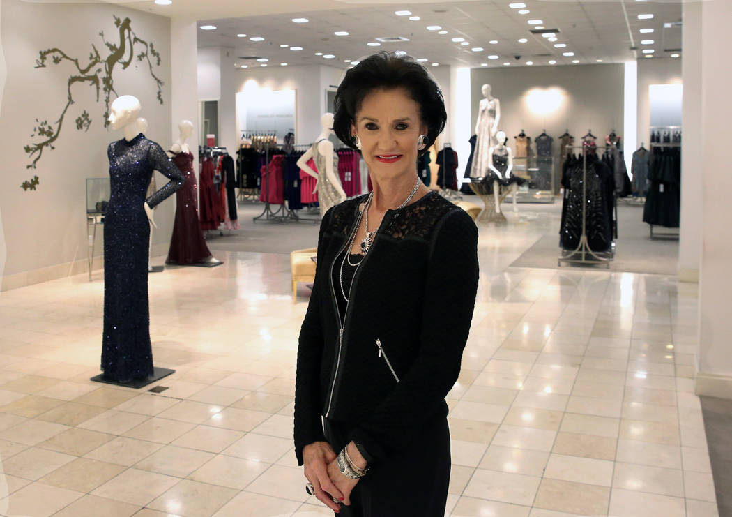 Mari Landers, vice president and general manager of the Saks Fifth Avenue at Fashion Show, poses for a photo on Thursday, Sept. 6, 2018, in Las Vegas. (Bizuayehu Tesfaye/Las Vegas Review-Journal) ...
