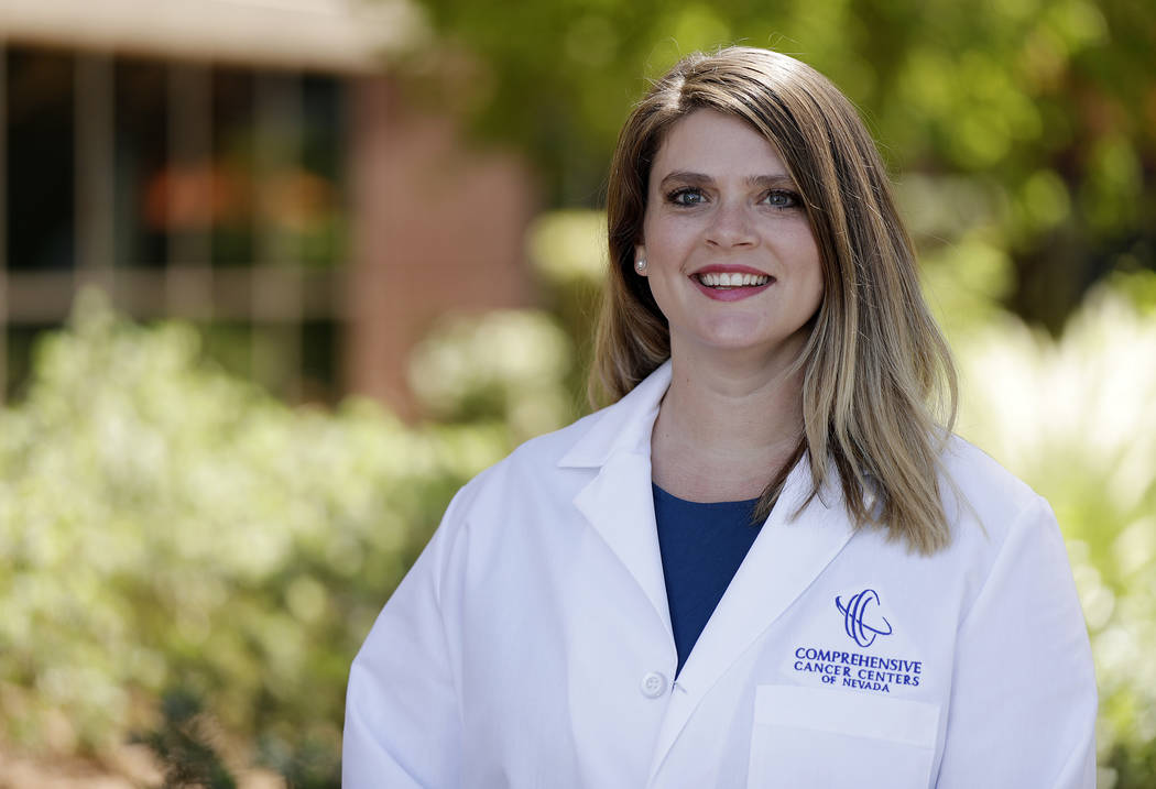 CCCN Rachel Shirley is a breast surgeon at Comprehensive Cancer Centers of Nevada.