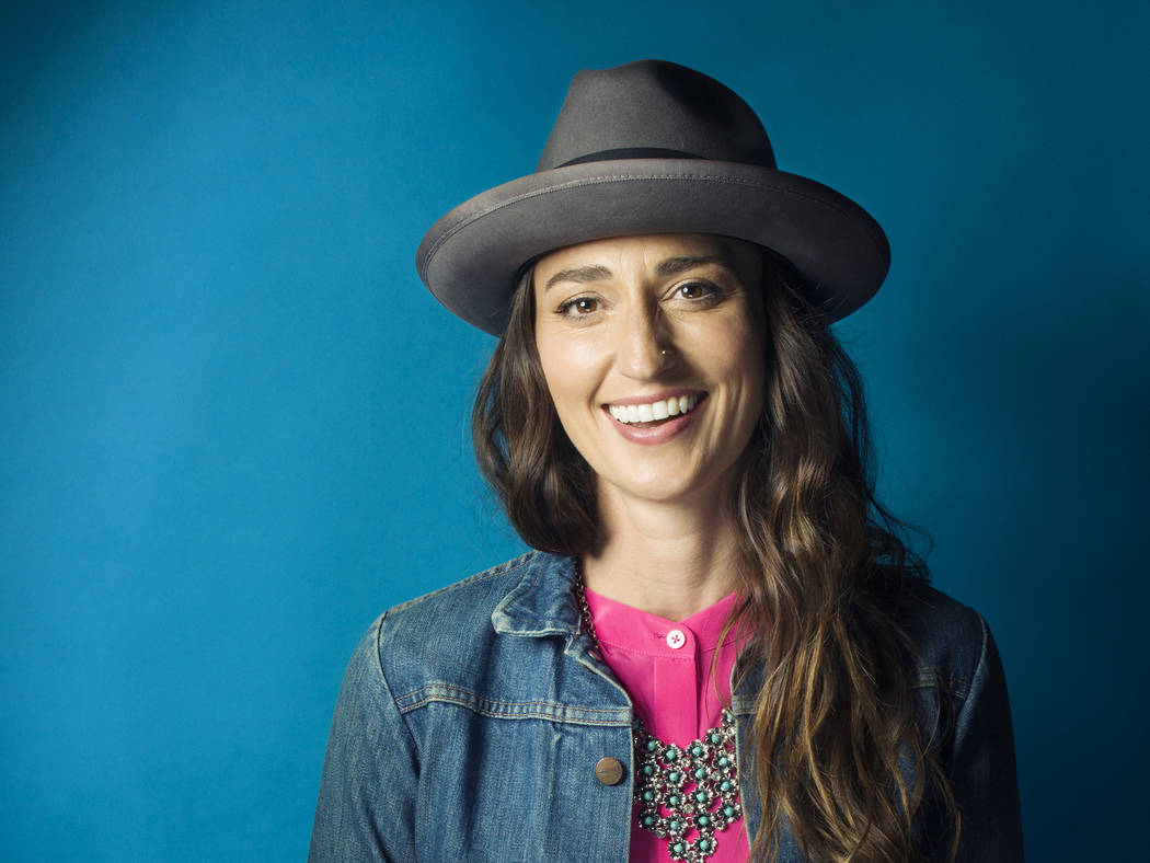 "In this Nov. 3, 2015 photo, musician Sara Bareilles poses for a portrait in New York. The singer-songwriter of hits like ""Brave"" and ""Love Song"" has changed gears entirely to w ..."