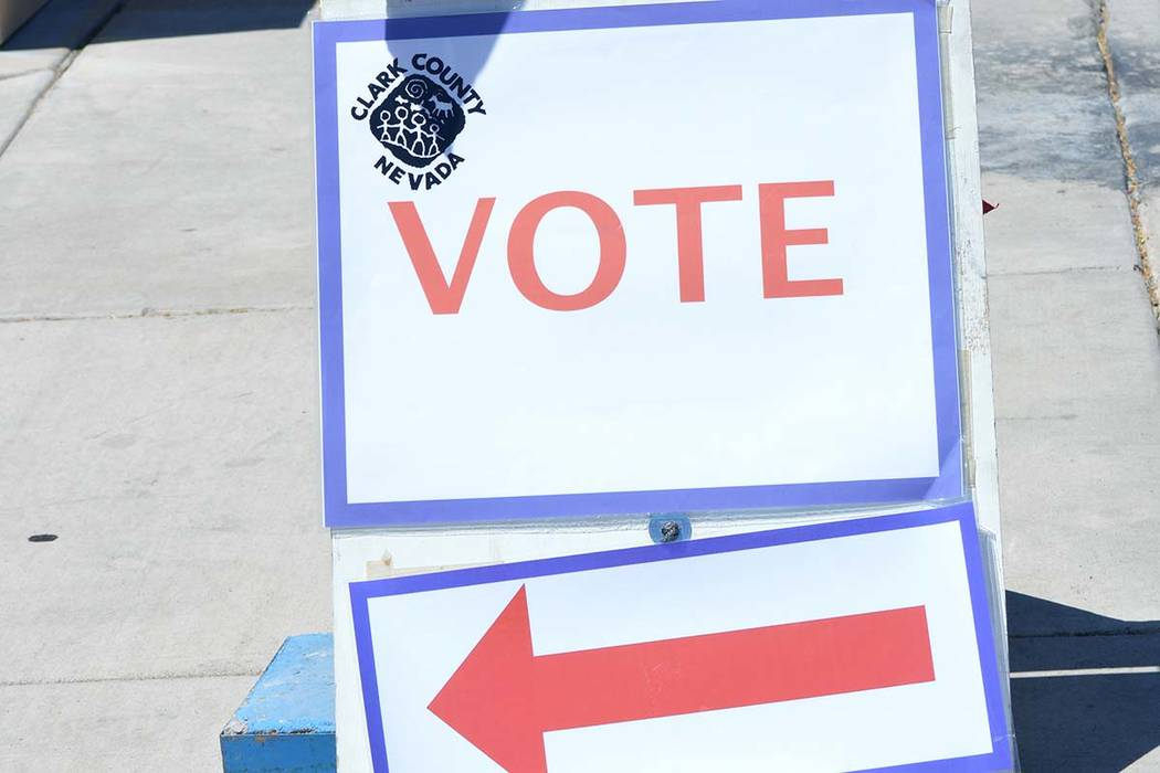 Six initiatives are on the Nov. 6 ballot in Nevada. (Celia Shortt Goodyear/Boulder City Review)