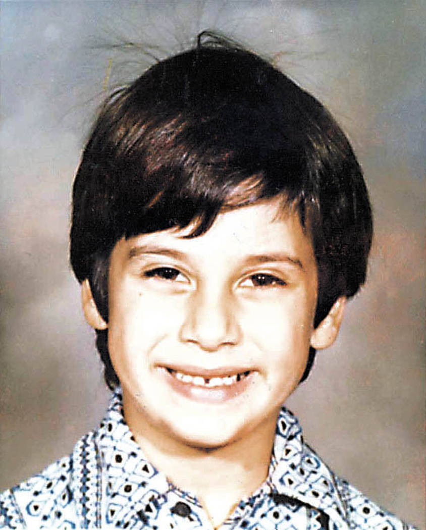 Cary Sayegh was abducted from the playground of the Albert Einstein Hebrew Day School in Las Vegas in 1978. His body has never been found. (File Photo)