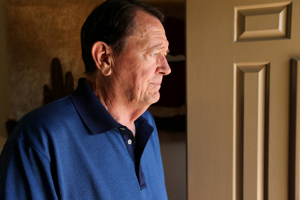 Retired FBI agent Johnny Smith, 73, talks about the Cary Sayegh kidnapping case during an interview on Sept. 26, 2018, in his Las Vegas home. The 6-year-old boy was kidnapped on Oct. 25, 1978, fro ...