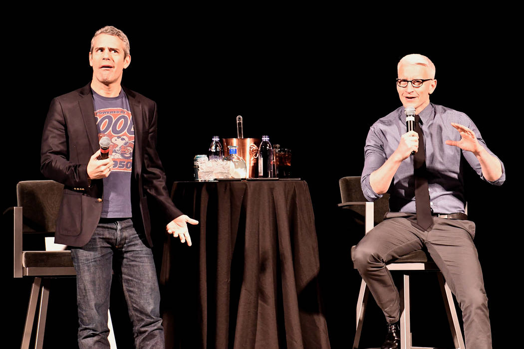 Andy Cohen and Anderson Cooper (C. Michael Stewart)